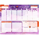 """bloom daily planners Work/Life Balance Planning Pad - Tear Off Weekly Work and Personal To Do Pad - Planning System To Do Pad - 8.5"""" x 11"""""""