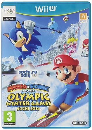 Mario Sonic En Juegos Olimpicos De Invierno Sochi 2014 Amazon Es