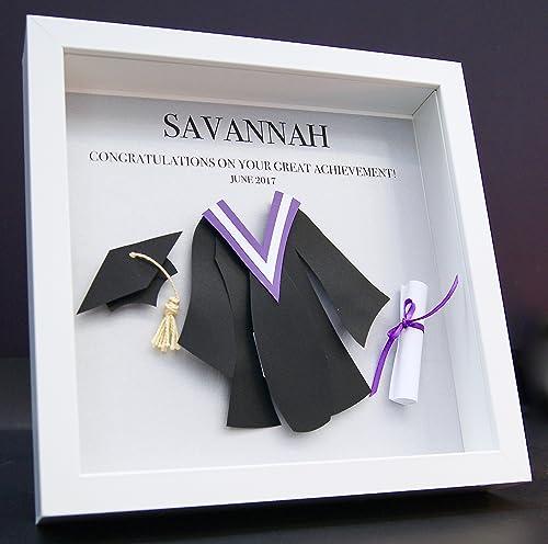 Personalized Graduation Custom Shadowbox Frame