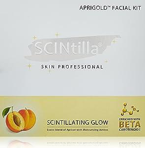 Streax Scintilla Facial Kit, Aprigold