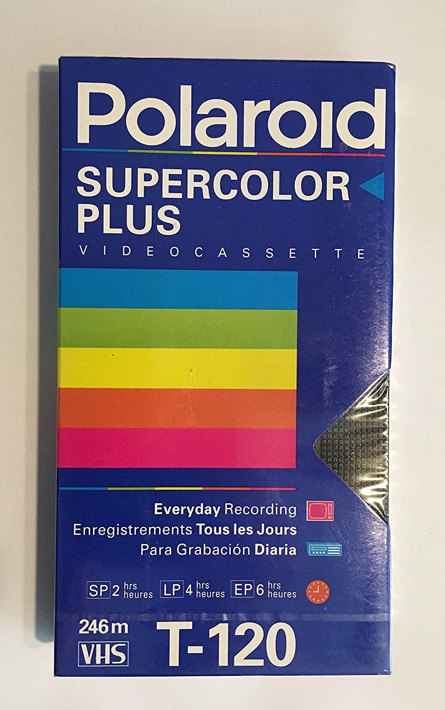 Polaroid Supercolor VHS 8 Pack