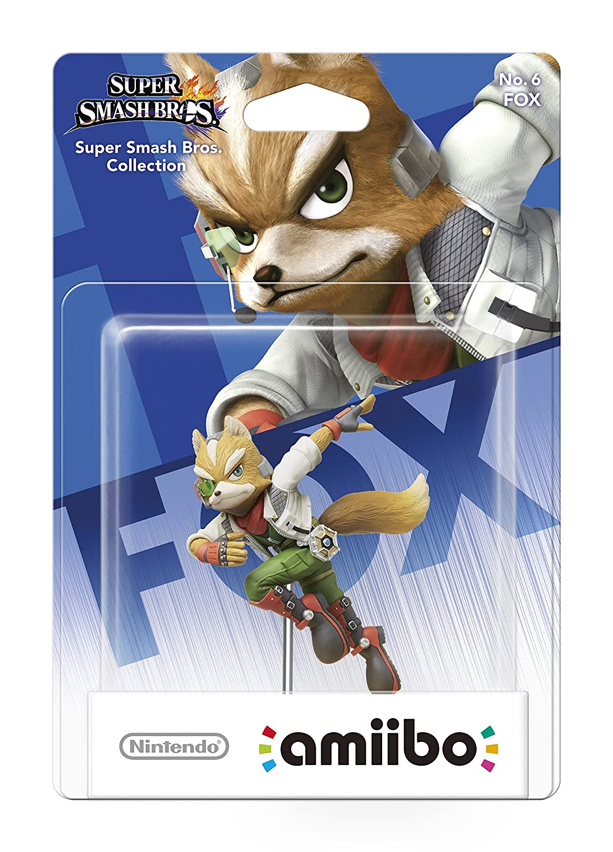 amiibo Smash Fox Figur: Nintendo Switch: Amazon.de: Games