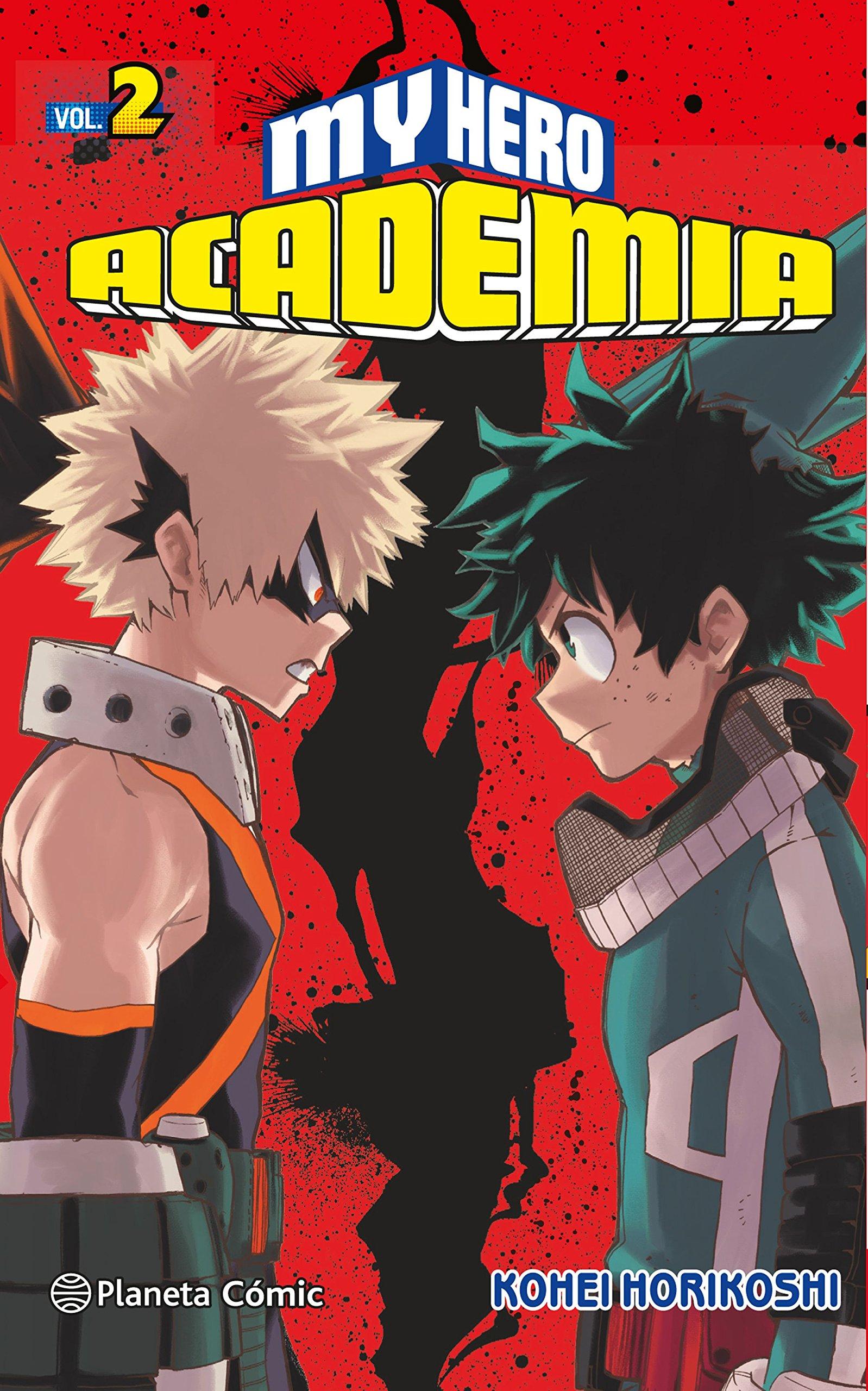 My Hero Academia nº 02 (Manga Shonen) Tapa blanda – 29 nov 2016 Kohei Horikoshi Daruma Planeta DeAgostini Cómics 841669351X