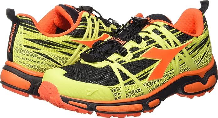 Diadora Zapatillas Trail Race Amarillo EU 40: Amazon.es: Zapatos y complementos