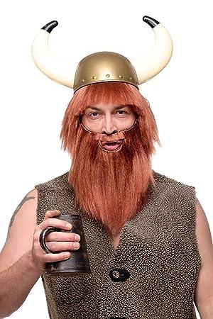 Wig Me Up Perucke Bart Herrenperucke Karneval Fasching Wikinger