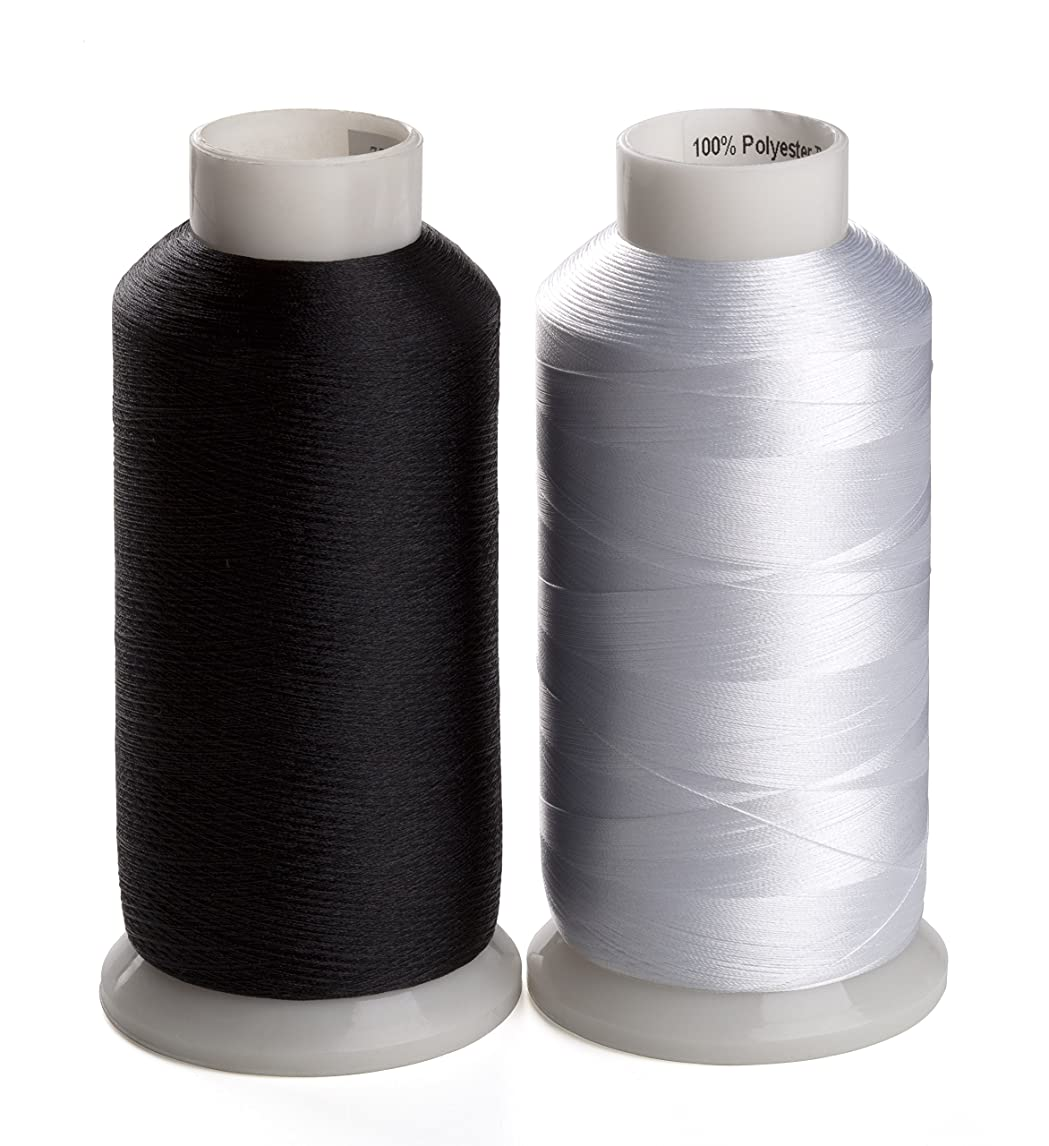 牛肉作曲する子孫simthread 蓄光刺繍糸、暗閣で光る、夜光刺しゅう糸?光る糸、5色/セット各1000(Y)ヤード