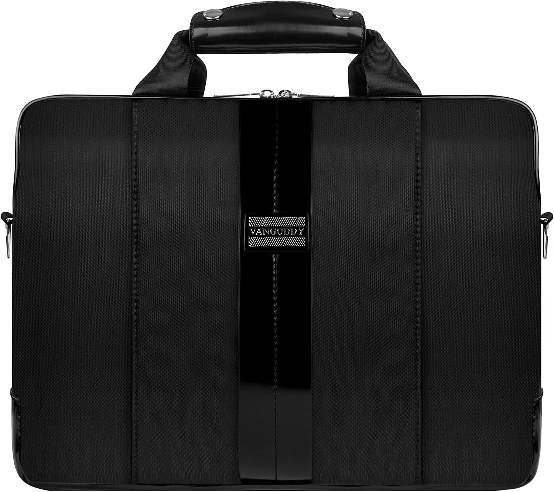 "VanGoddy Modern Black Messenger Bag for Lenovo Flex/ThinkPad/IdeaPad/Yoga 14"" - 15.6inch"