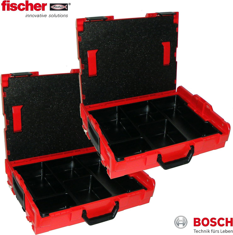 Bosch L-Boxx 102 - Caja de herramientas (2 unidades, sin tacos ...