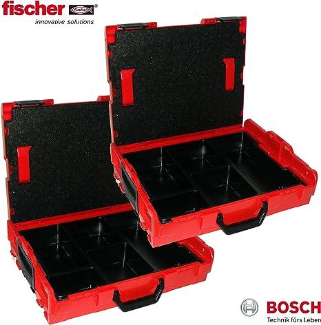 Bosch L-Boxx 102 - Caja de herramientas (2 unidades, sin tacos, vacía, con organizador): Amazon.es: Bricolaje y herramientas