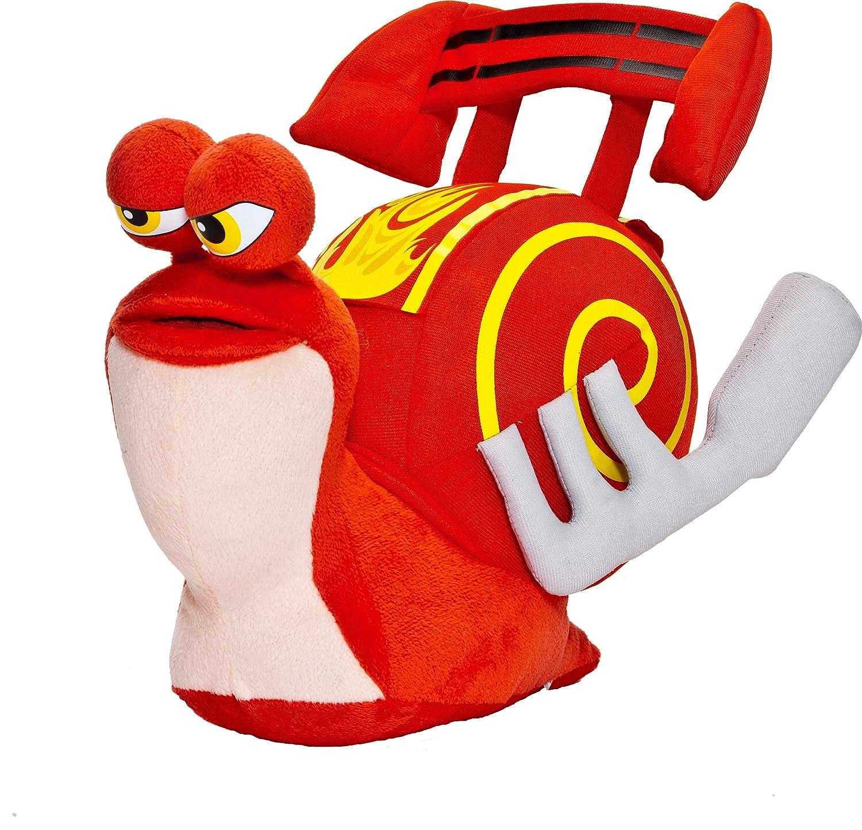 Joy Toy 339991 Turbo - Caracol de peluche en caja expositora (25 cm), color rojo: Amazon.es: Juguetes y juegos
