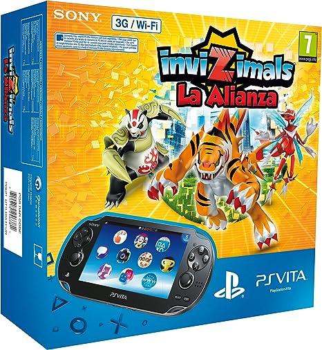 PlayStation Vita - Consola 3G + Invizimals: La Alianza: Amazon.es ...