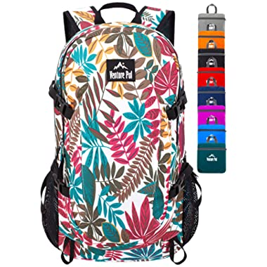 Venture Pal 40L Lightweight Packable Backpack with Wet Pocket - Durable Water Resistant Travel Hiking Camping Outdoor Daypack for Women Men