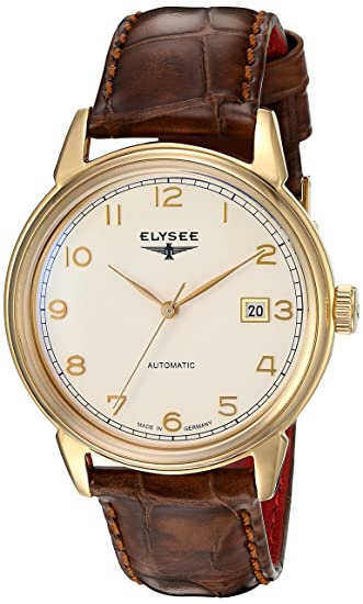 Elysee reloj hombre Classic Vintage Master automática 80547