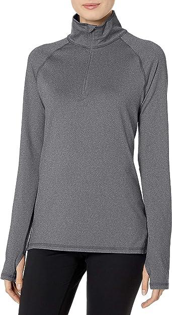 Hanes Sport Women's Performance Fleece Quarter Zip Pullover at Amazon  Women's Clothing store