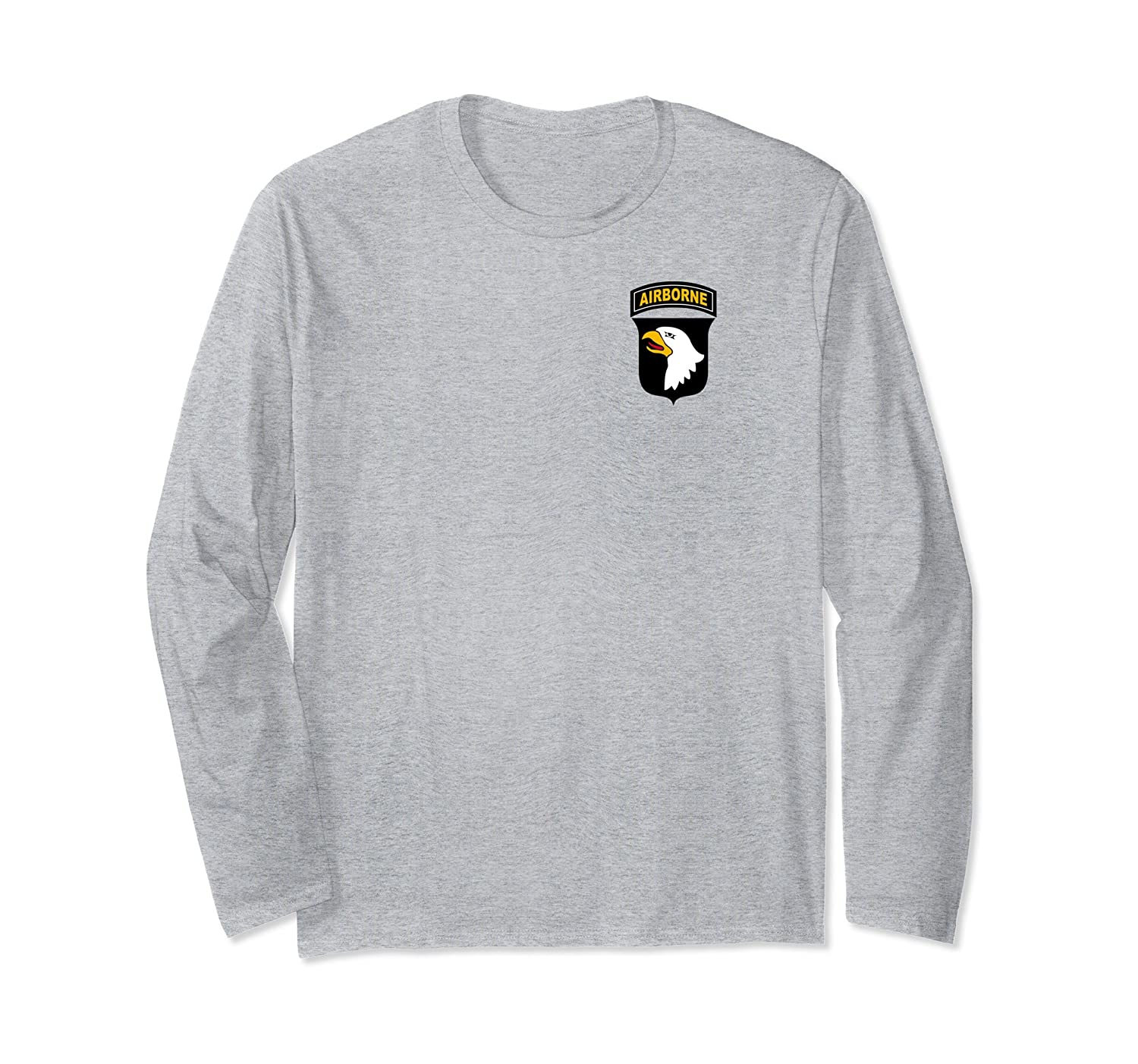 101st Airborne Shirt - 101st Airborne t shirt - long sleeve-mt