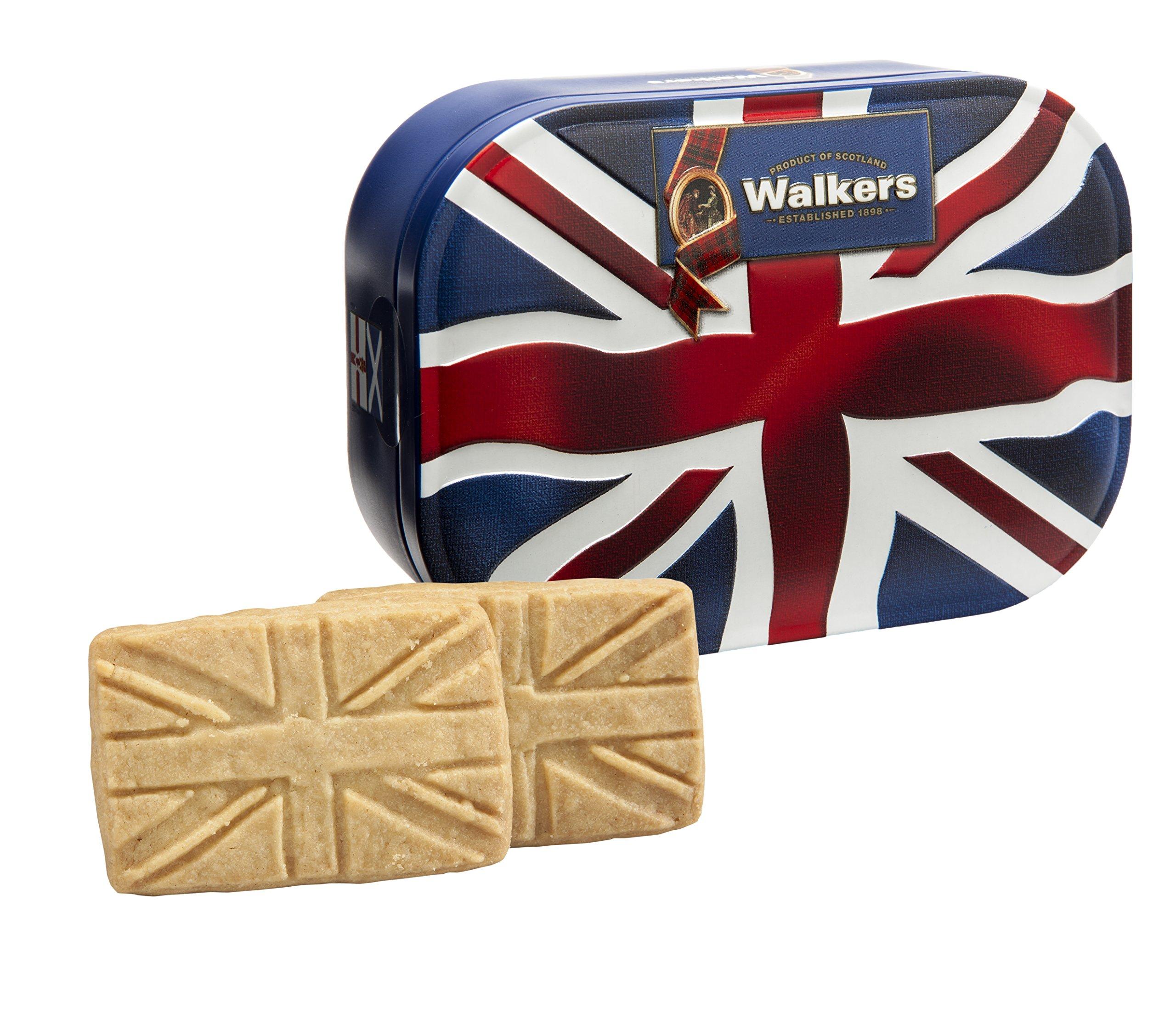 Walkers Union Jack Pure Butter Shortbread Tin