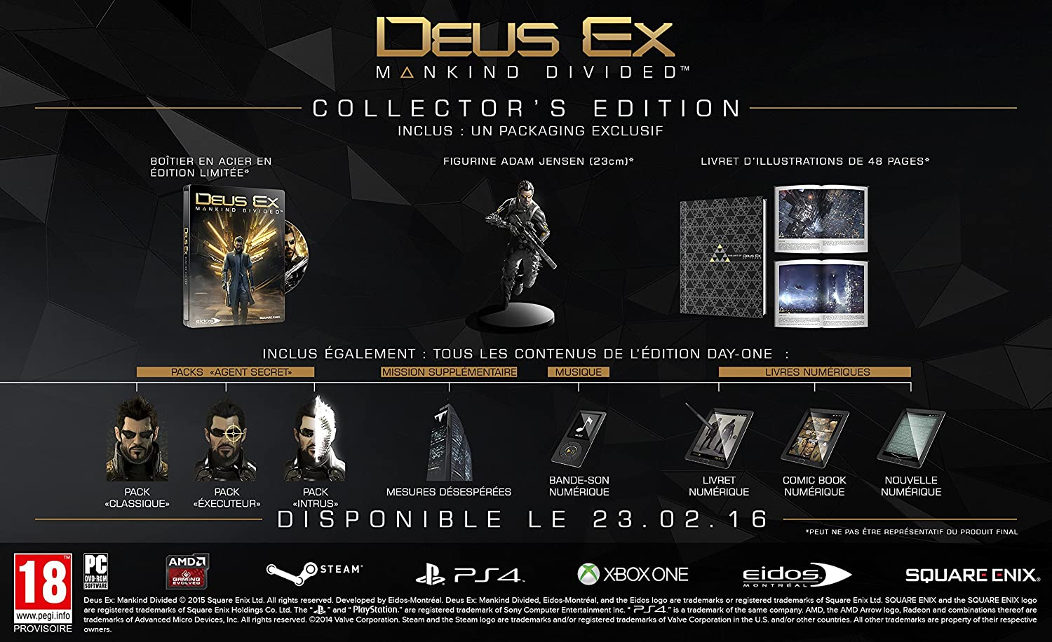 Deus Ex : Mankind Divided - Edition Collector 91DU4zg8oDL._SL1500_