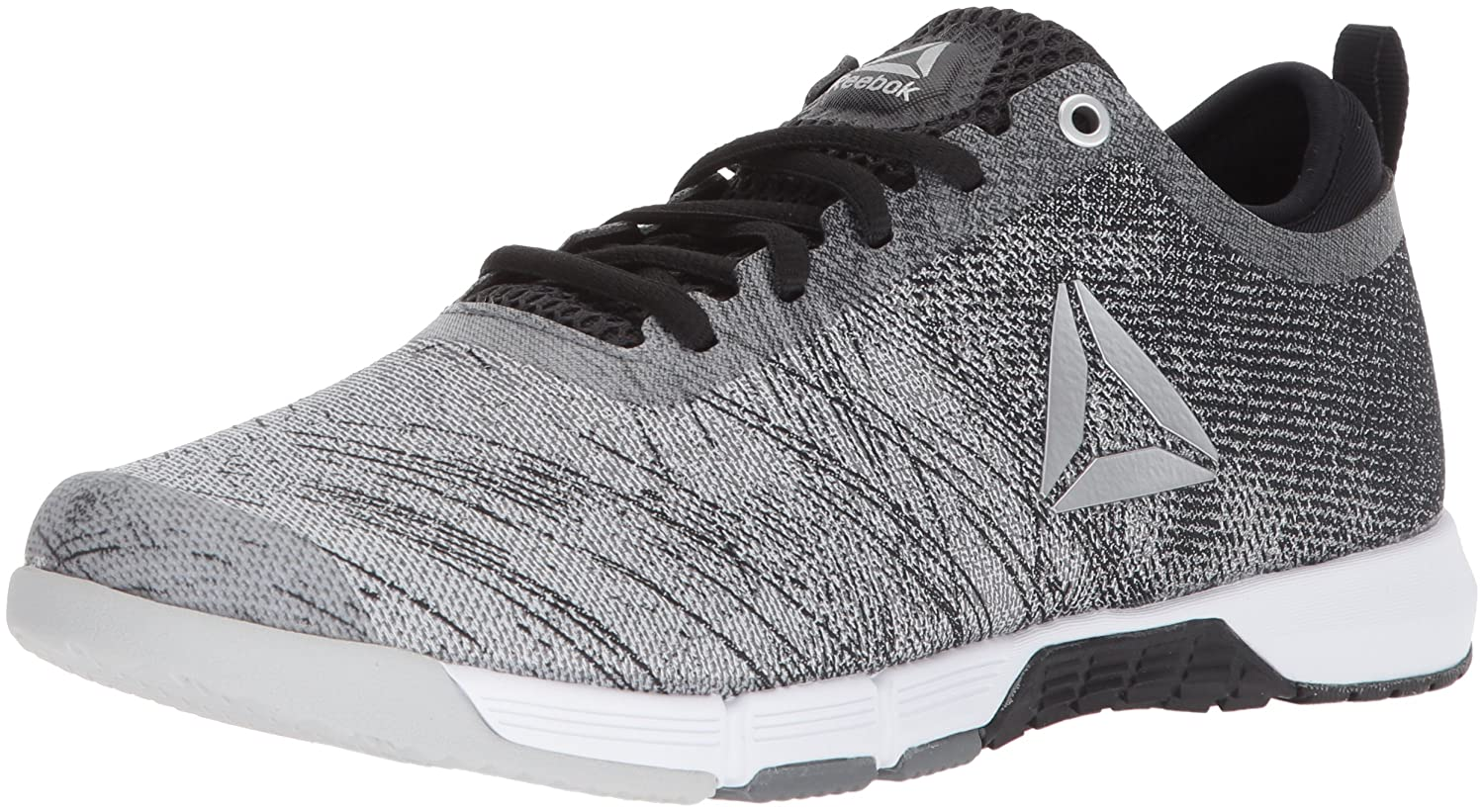 Reebok Women's Speed Her TR Sneaker B073RK81C9 9.5 B(M) US|Alloy/Black/White/Skull Grey/Silver