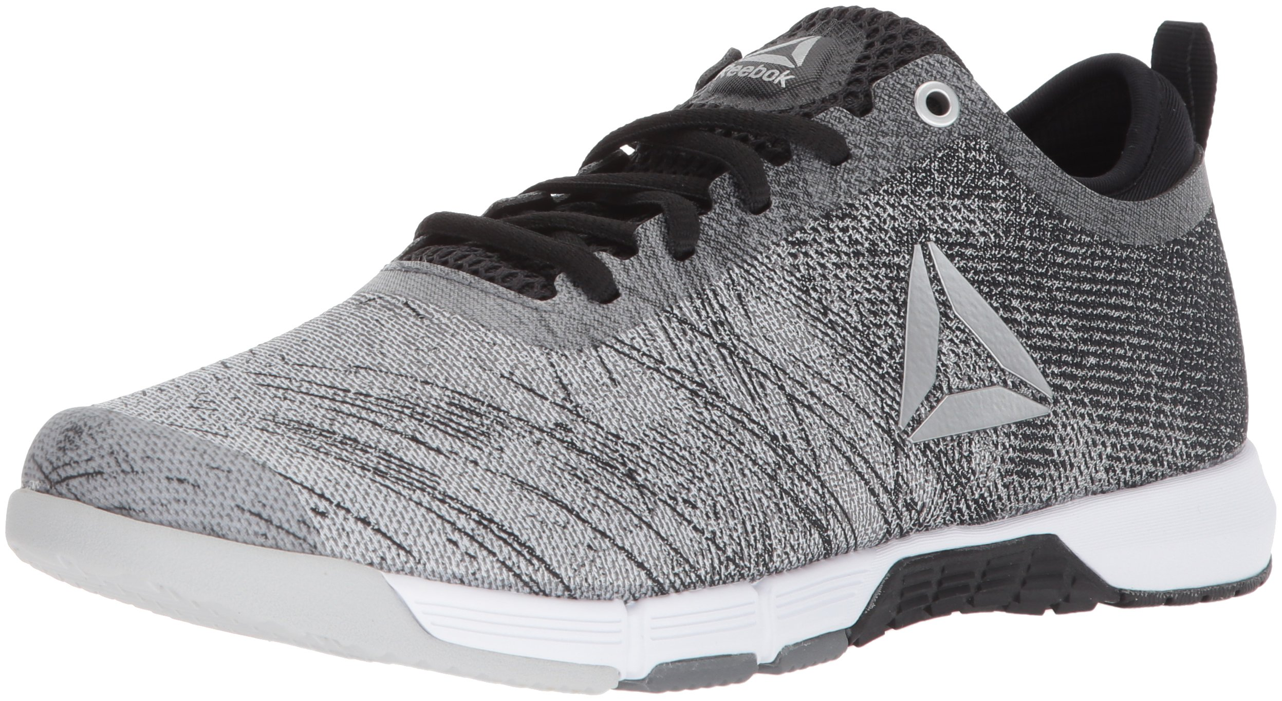 Reebok Women's Grace TR 2.0 Sneaker, Alloy/Black/White/Skull Grey/Silver, 8.5 M US