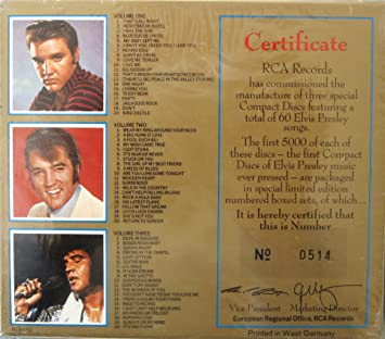 "Image result for The Elvis Presley 3-CD set ""Legendary"