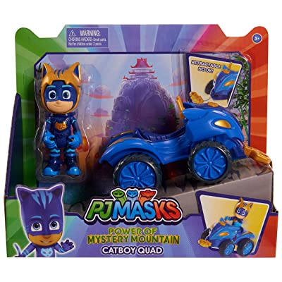 PJ Masks Mystery Mountain Quads - Catboy: Toys & Games