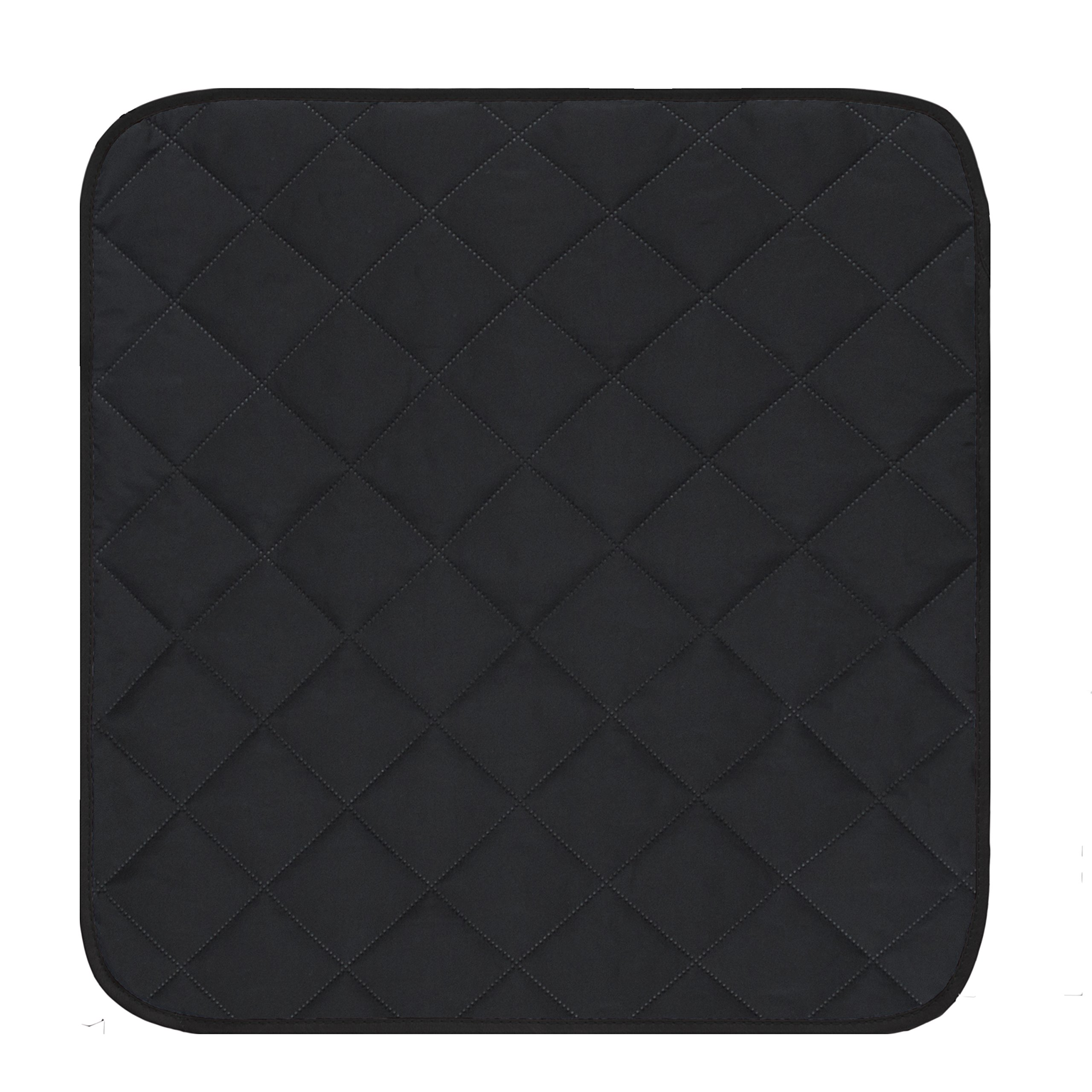 Mydays Chair Seat Protector Pad Absorbent Washable Reusable Incontinence Dining Chair Cover Mat Seat Cushion (Black, 2122) by Mydays