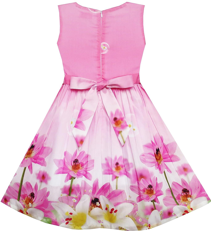Sunny años Rosa Fashion Vestido para 19113 niña Girasol Burbuja ...