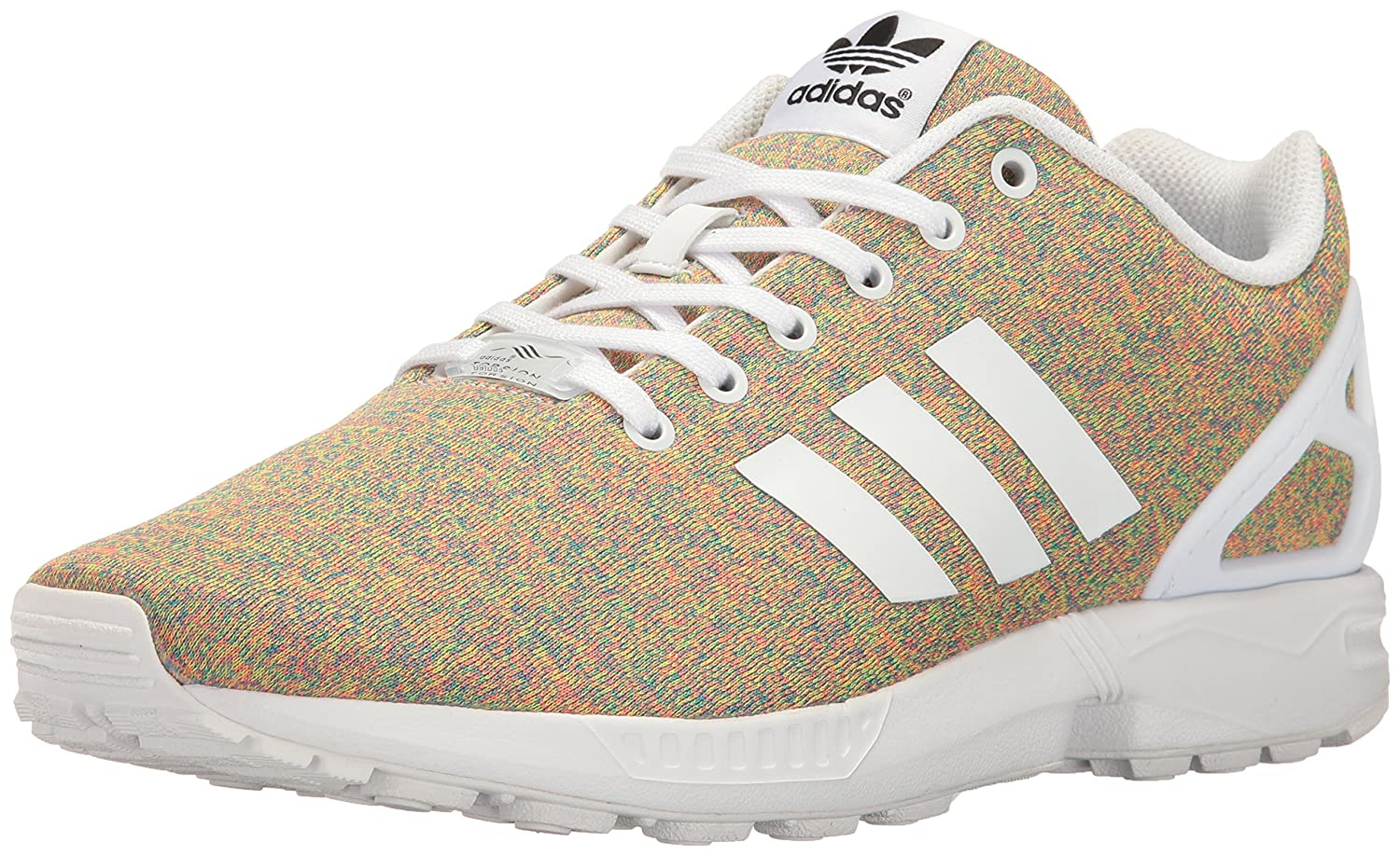 adidas Originals Men's ZX Flux Fashion Sneaker B01M09NGTY 8 M US|White/White/White