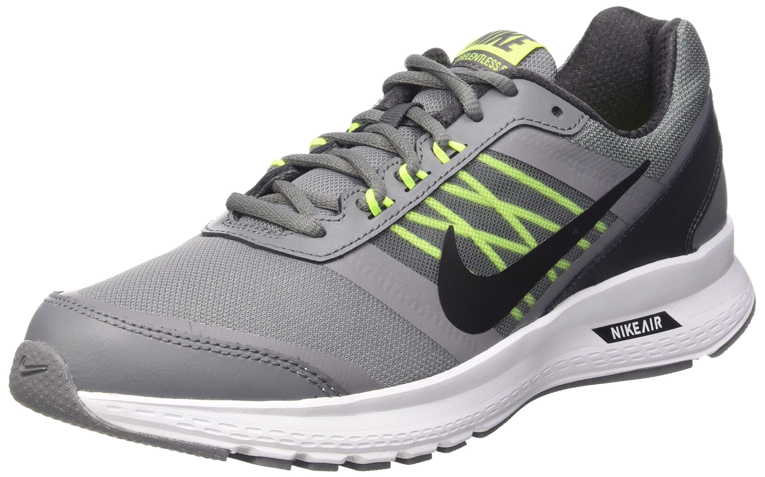 c47d387c157 Galleon - Nike Men s Air Relentless 5 Cool Grey Black Anthracite Wht Running  Shoe 9.5 Men US