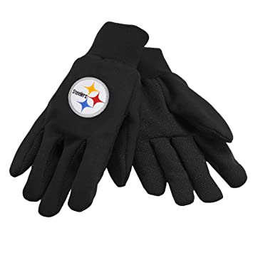 b99c7c33d79 NFL Pittsburgh Steelers Work Gloves: Amazon.ca: Sports & Outdoors