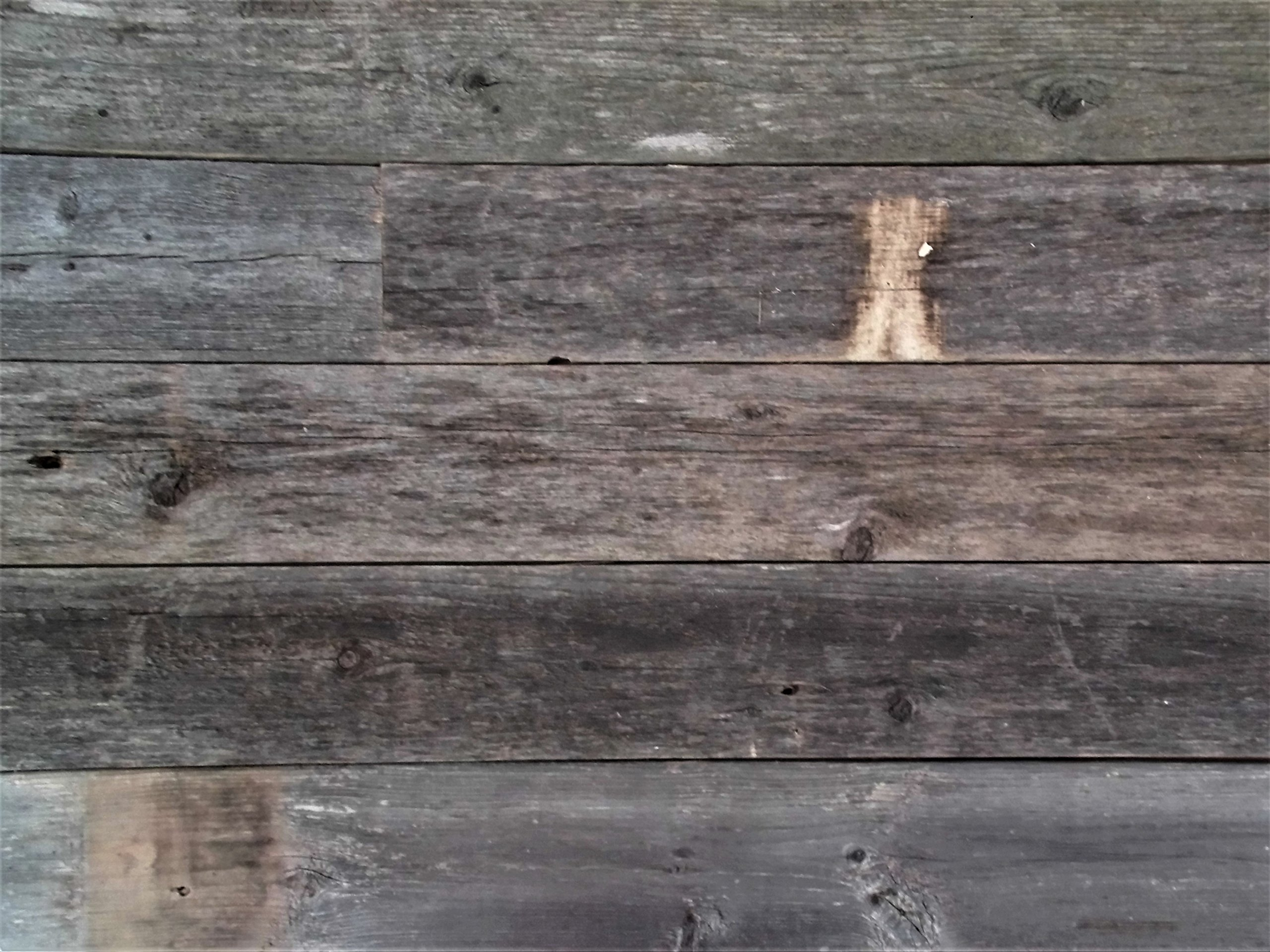 Rustic Weathered Reclaimed Wood Planks for DIY Crafts, Projects and Decor (20 Planks - 48'' Long) by Rockin' Wood (Image #4)