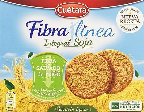 Cuetara Fibralia Galletas Integral de Soja con Fibra de ...