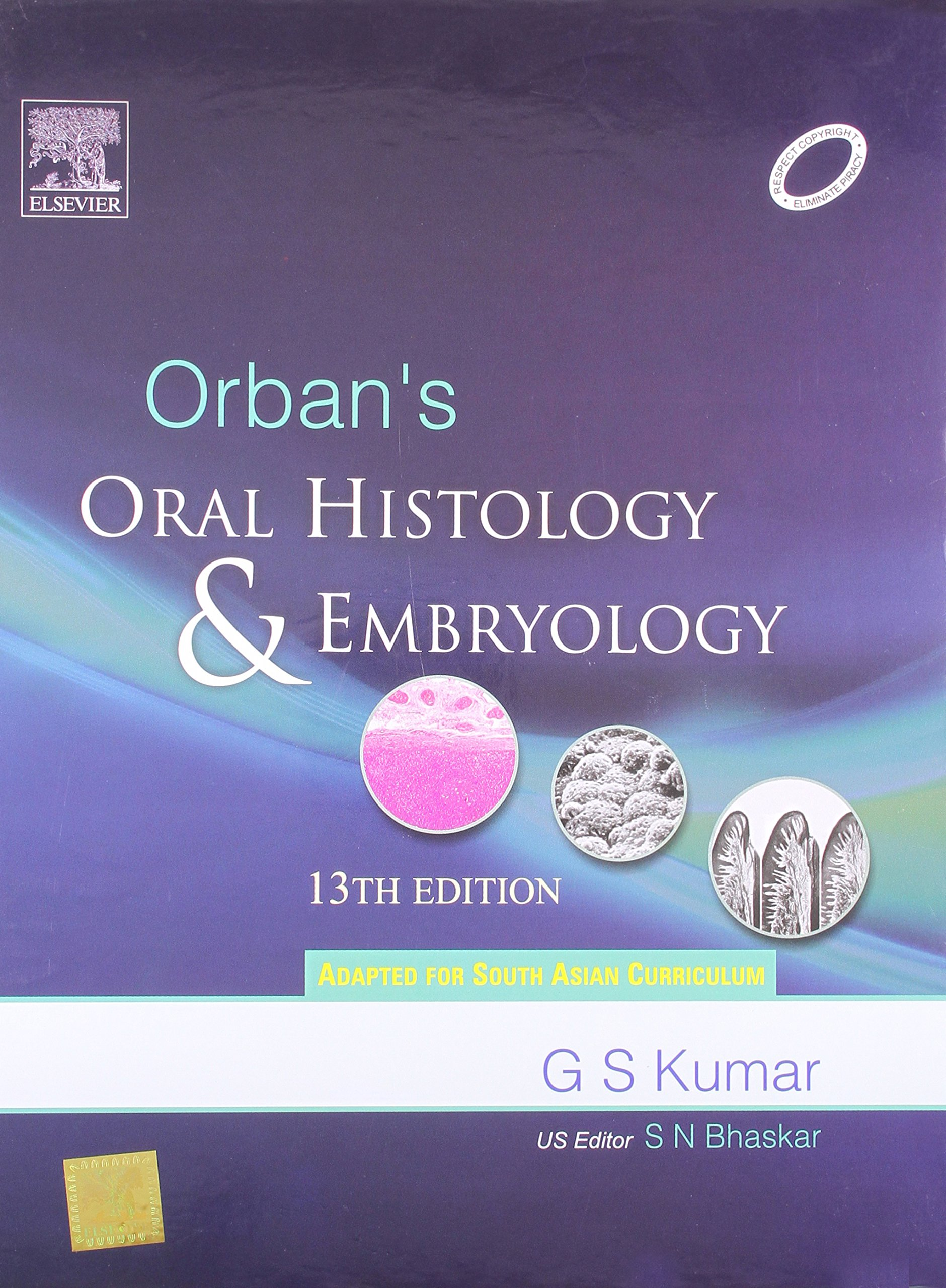 Buy Orban\'s Oral Histology and Embryology (Old Edition) Book Online ...