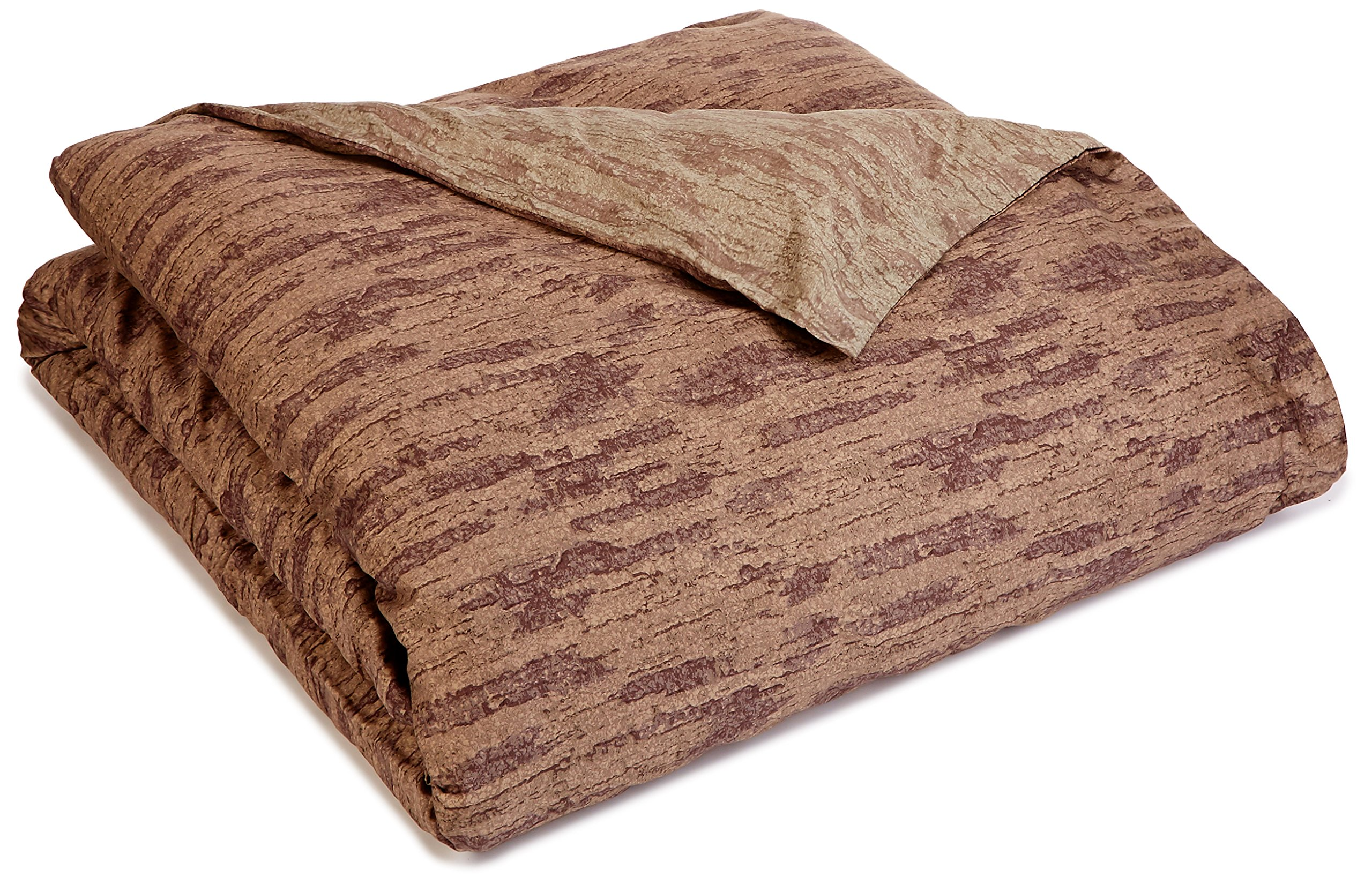 Portico 92 by 96-Inch Duvet, Full/Queen, River Rock Print
