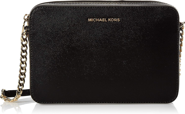 Michael Kors Lg Ew Crossbody - Bolso bandolera (24 x 16 x 7 cm)