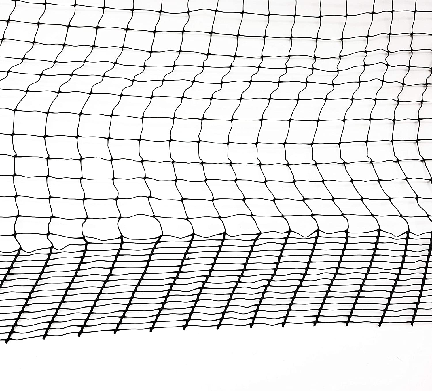 P.C Repellent Deer Netting and Fencing Protection for Animals and Trees 6.5FTx13FT Black