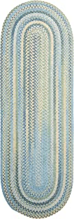 product image for Colonial Mills Rustica Area Rug 2x5 Whipple Blue