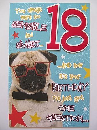 Birthday Cards Aged Mops Hund Sie Immer Waren So Sensible Smart 18