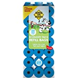 Bags on Board Durable Dog Poop Pickup Bags, 9 x 14 inches, Multiple Colors Available