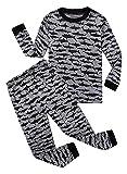 Shark Little Boys Long Sleeve Pajamas Sets