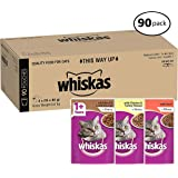 Whiskas Mixed Selection in Gravy Wet Cat Food Pouch, Adult, 90x85g
