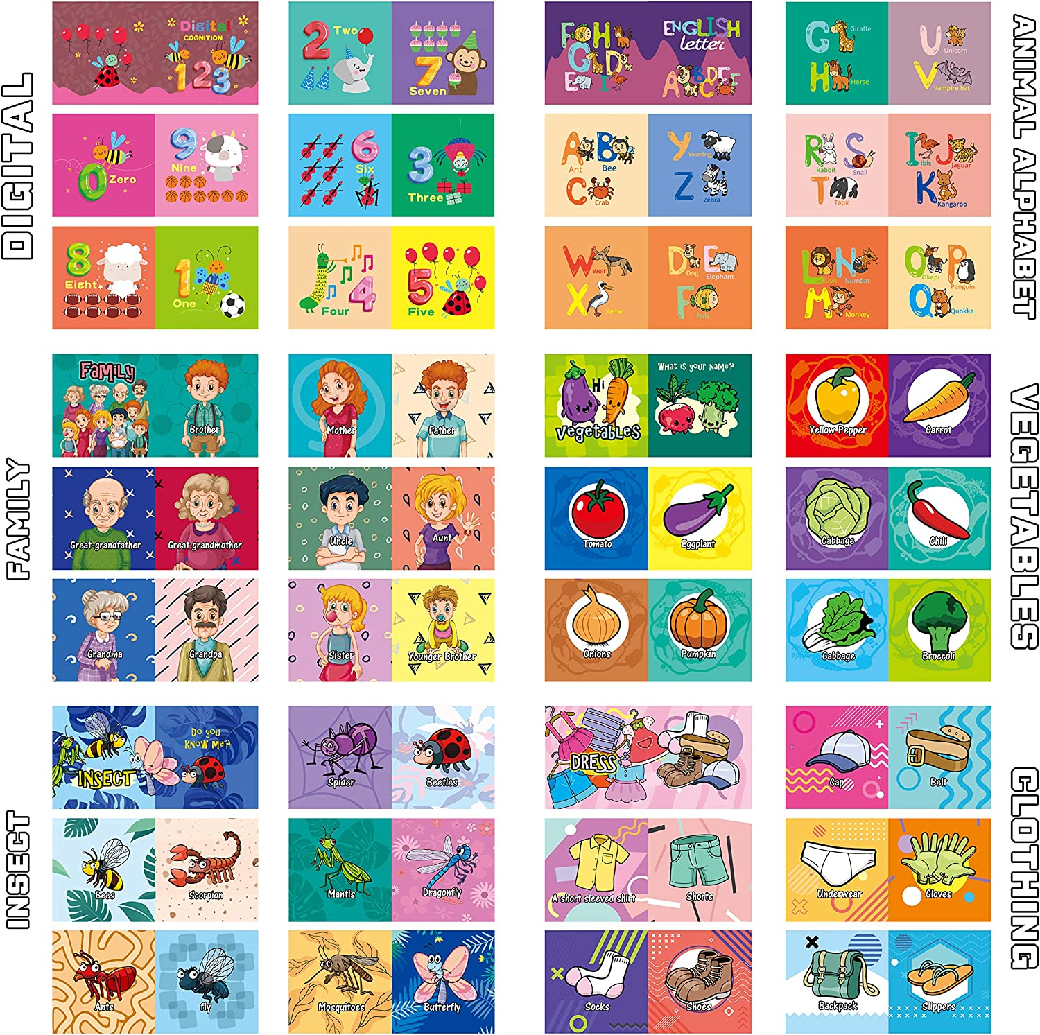 Pack of 12 Baby Bath Books,Nontoxic Fabric Soft Baby Cloth Books,Early Education Toys,Waterproof Baby Books for Toddler Infants Perfect Shower Toys,Kids Bath Toys Best Gift