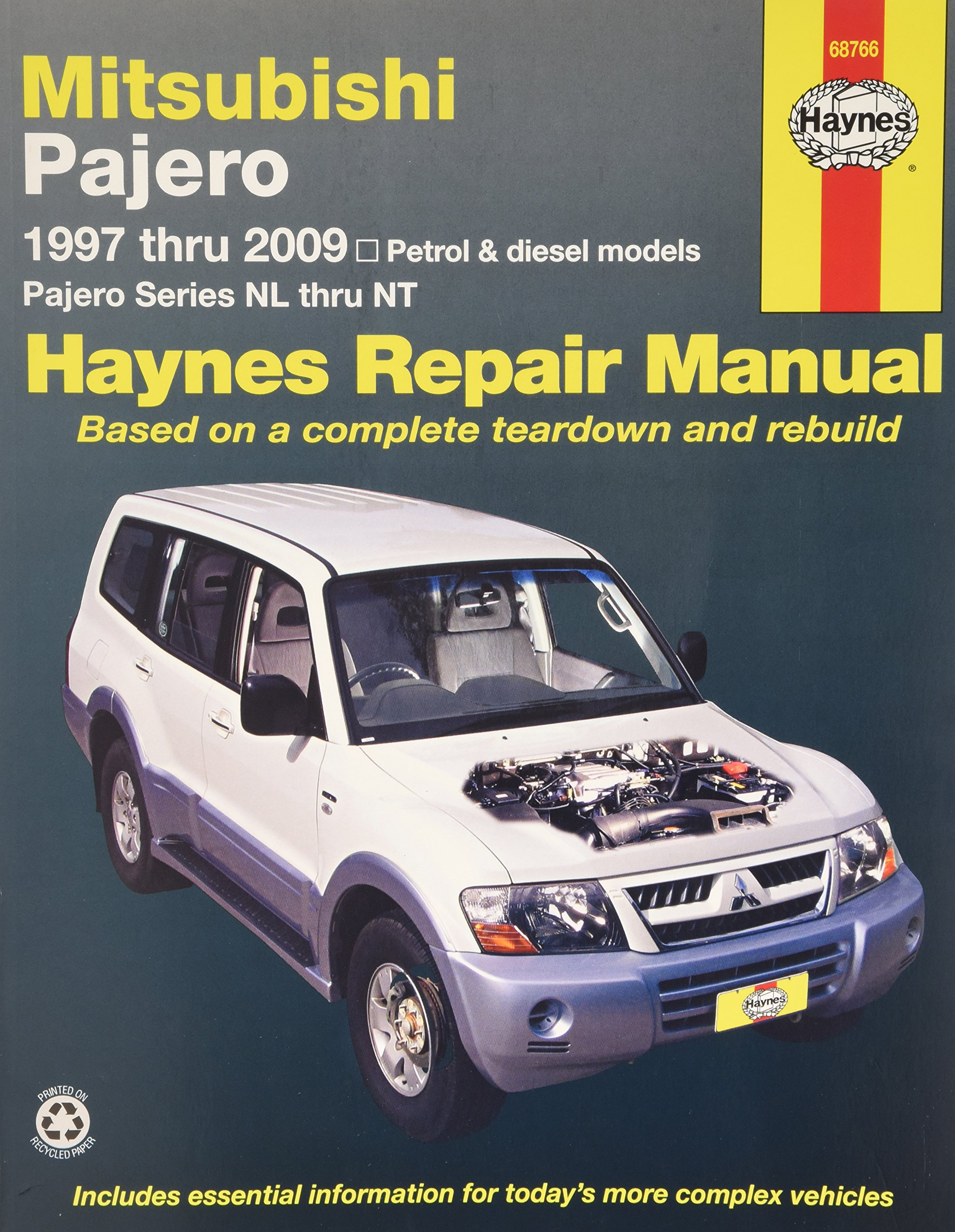 mitsubishi pajero automotive repair manual 97 09 haynes automotive rh amazon com mitsubishi pajero repair manual pdf pajero workshop manual free download