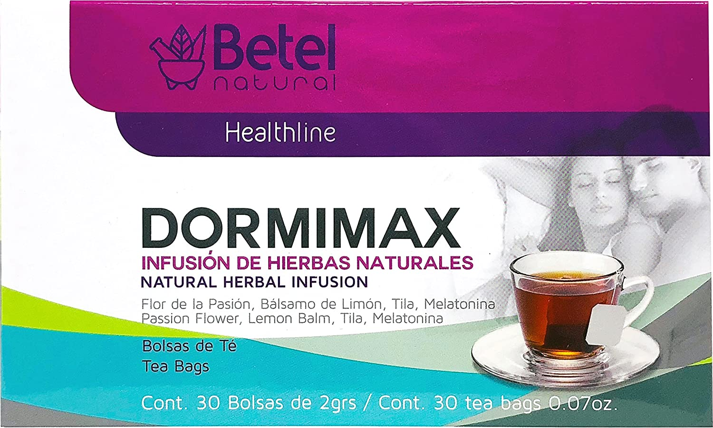 Amazon.com: Dormimax Tea by Betel Natural - Natural Sleep Aid Tea ...