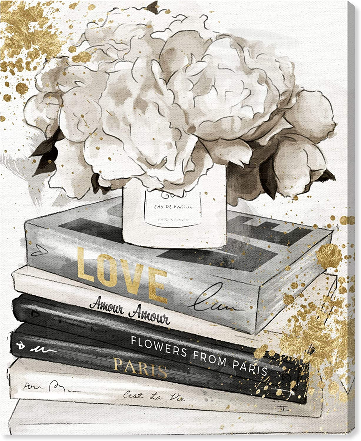 The Oliver Gal Artist Co. Fashion and Glam Wall Art Canvas Prints 'Life Style All Day Luxe' Home Décor, 13