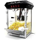 Paramount 8oz Popcorn Maker Machine - New Upgraded Feature-Rich 8 oz Hot Oil Popper [Color: Black]