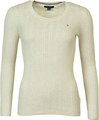 Tommy Hilfiger Women/'s Ivy Cable Knit Sweater