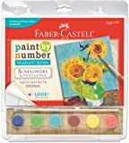 Faber-Castell Paint by Number Museum Series – Paint Your Own Sunflowers by Vincent Van Gogh