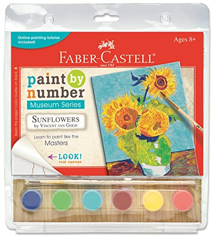 Amazon.com: Creativity for Kids Paint by Number Sunflowers: Toys & Games