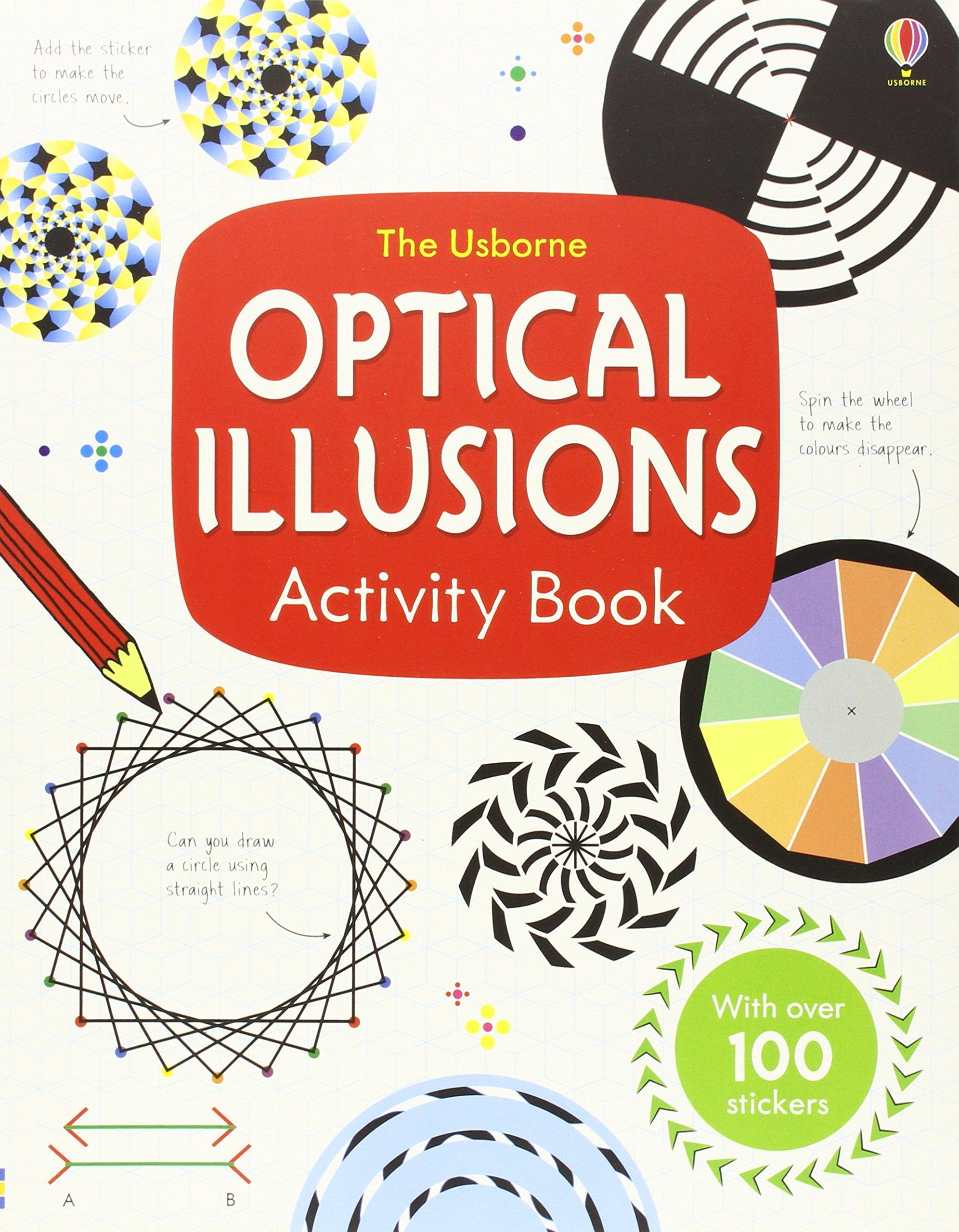 Optical Illusions Activity Book: Sam Taplin: 9781409551591: Amazon ...